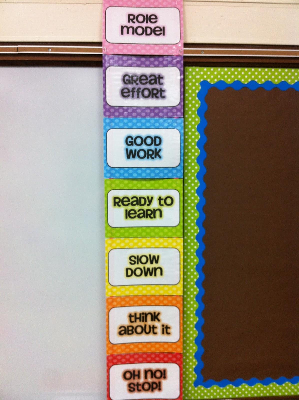 Classroom Reinforcement Ideas ~ Teacher week classroom management mrs plemons