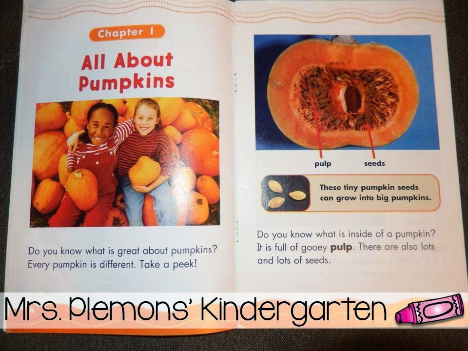 book talk tuesday pumpkins mrs plemons kindergarten rh mrsplemonskindergarten com Label a Pumpkin Diagram Parts of a Pumpkin Diagram