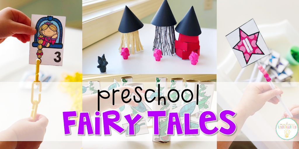 There Was Just Way Too Much Fun To Pack Into One Week So We Split Our Fairy Tale Theme 2 Like Did With Nursery Rhymes For The Tot School