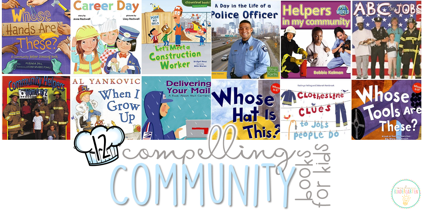 Classroom Job Ideas For Kindergarten ~ Compelling community books for kids with teaching