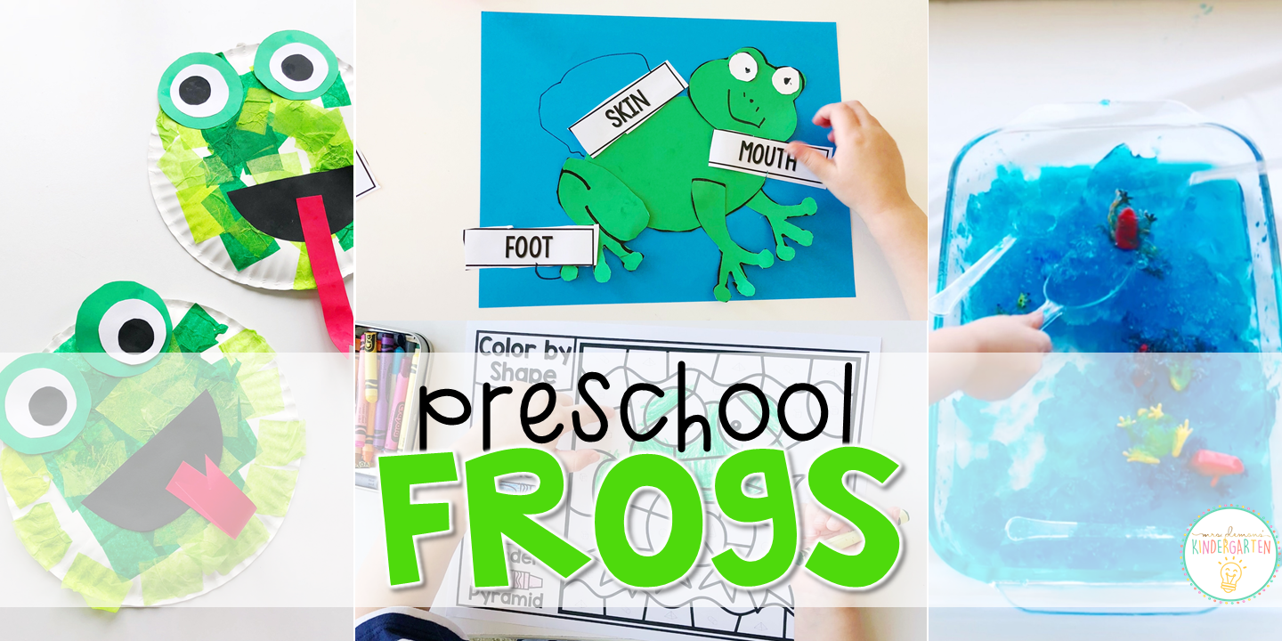 Preschool: Frogs - Mrs. Plemons\' Kindergarten