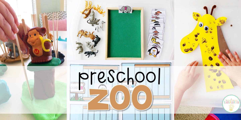 Preschool Zoo Mrs Plemons Kindergarten