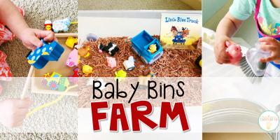 Baby Bins: Farm