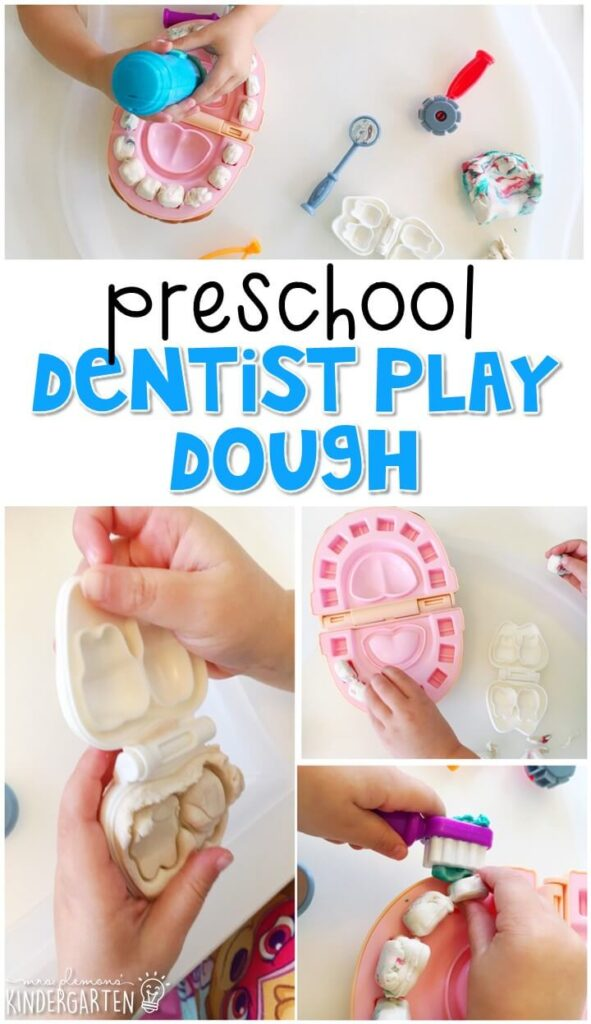 This play dough germ activity is a super fun way to practice making and identifying shapes, and fine motor skills with a healthy habits theme. Great for tot school, preschool, or even kindergarten!