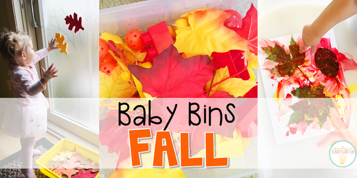 These fall themed sensory bins and activities are great for learning about the changes in seasons and are completely baby safe. Baby Bins are the perfect way to learn, build language, play and explore with little ones between 12-24 months old.