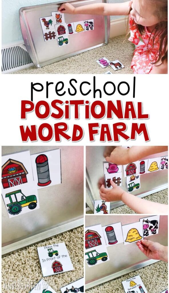 Practice opposites and sorting with this farm sorting book. Perfect for a farm theme in tot school, preschool, or even kindergarten!