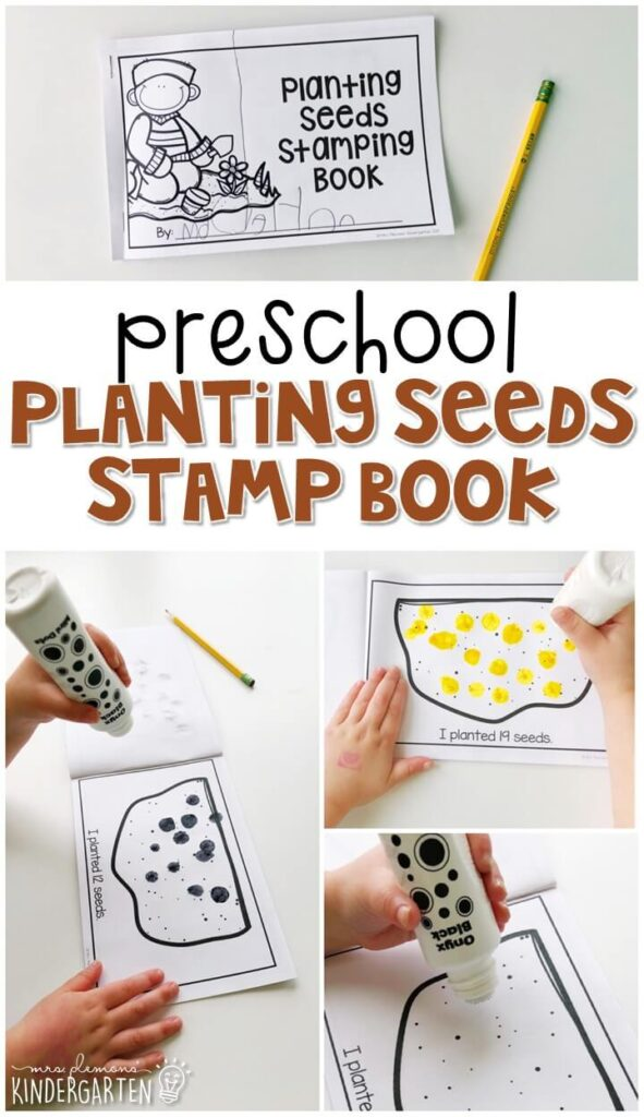 This nature sound stamping activity is perfect for letter, sound, and fine motor practice with a dinosaur theme. Great for a plant theme in tot school, preschool, or even kindergarten!