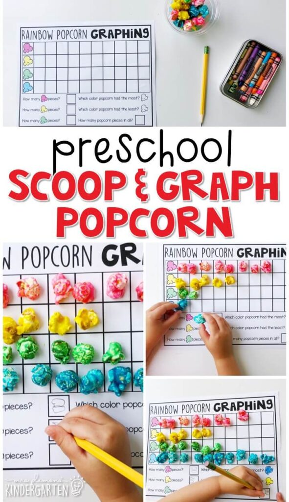 These popcorn number mats are a super fun way to practice number identification, counting, number writing, and fine motor skills with a carnival theme. Great for tot school, preschool, or even kindergarten!