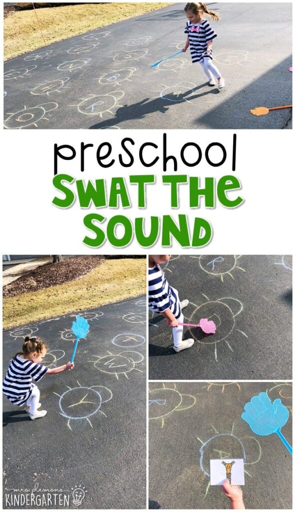 Learning is more fun when it involves movement! Practice identifying ending sounds in words with this swat the sound activity. Great for an insect theme in tot school, preschool, or even kindergarten!